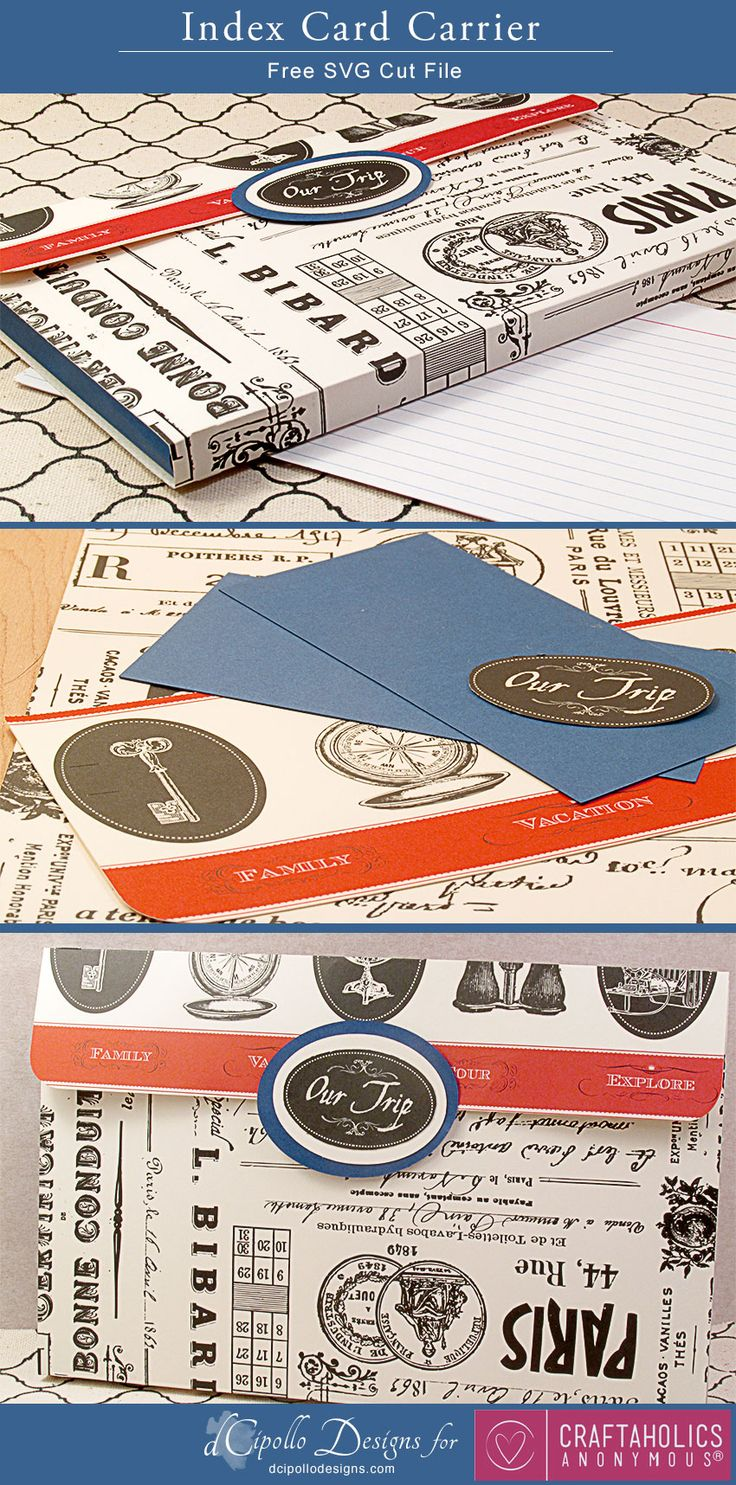 The idea of using index cards to help organize ideas and tasks is genius! Plus here's a cool index card holder