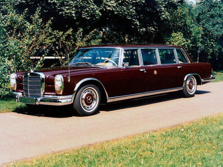 1964 mercedes benz 600 4 door pullman limousine w100 for 1964 mercedes benz