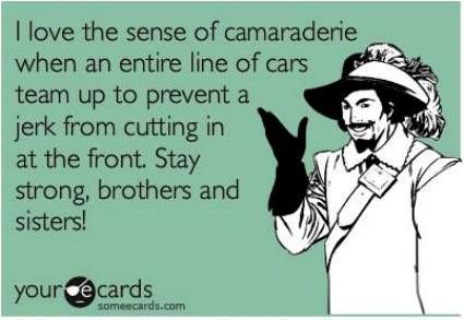 someecards enemies driving The 100 Best SomeEcards For Every Situation