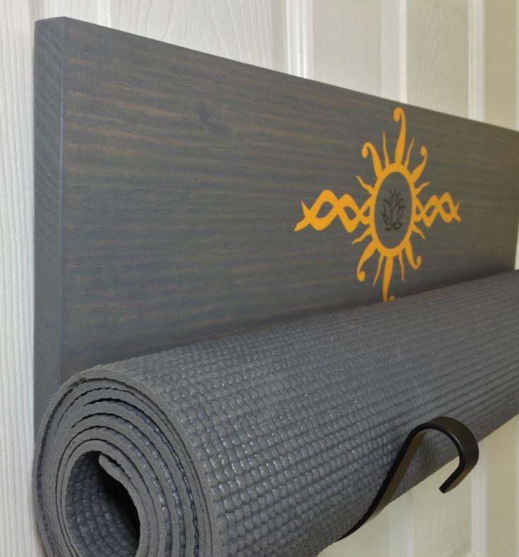 71 Best Images About Yoga Studio Yoga Mat Holder On