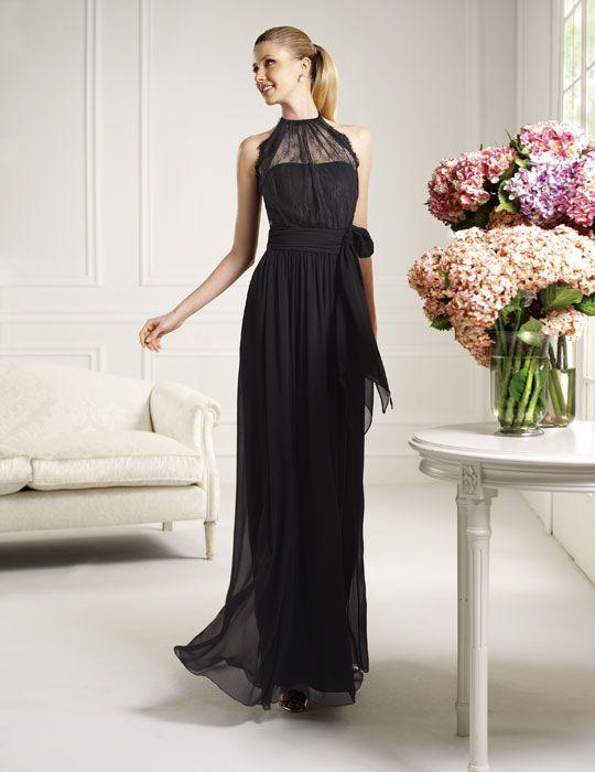 Vestidos Largos de Noche Negro - Para Más Información Ingresa en: http://vestidoscortosdemoda.com/vestidos-largos-de-noche-negro/