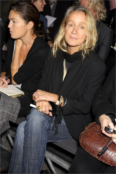 Lucinda Chambers+ God is she Lovely just Simply so.  Her casual, no effort look! * am wowed!