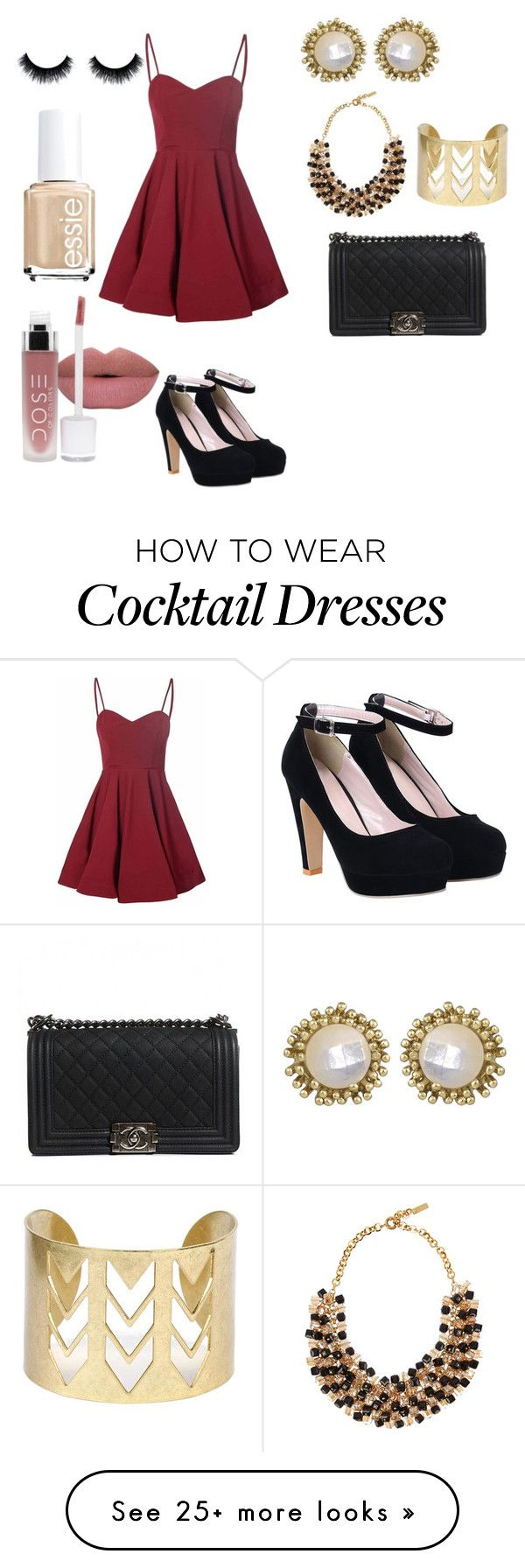 """Party"" by heyhello3593 on Polyvore featuring Glamorous, Kendra Scott, Etro, Chanel and Essie"