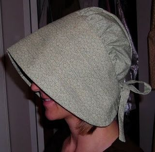 Buns and Baskets: Godey's Lady's Book 1857 Sun-Bonnet Tutorial (another Pioneer Bonnet Pattern)