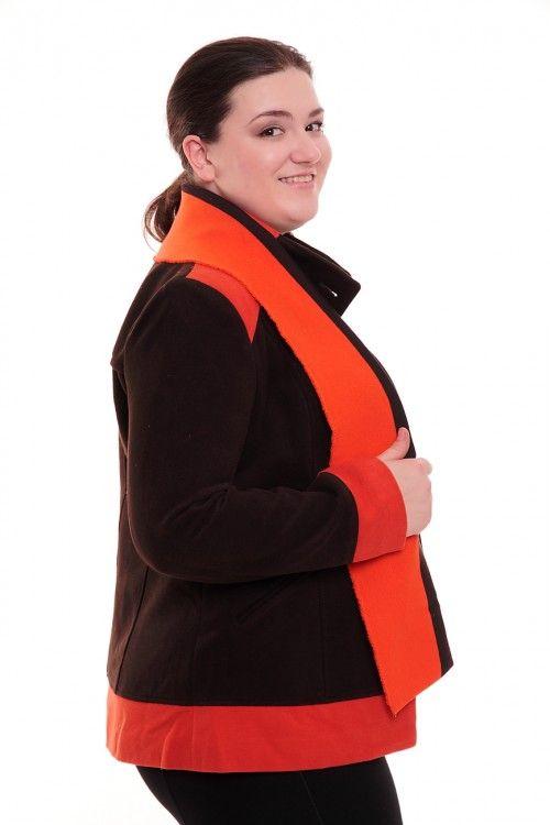 Пальто А2586 Размеры: 2XL Цвет: коричневый Цена: 1800 руб.  http://optom24.ru/palto-a2586/  #одежда #женщинам #пальто #оптом24
