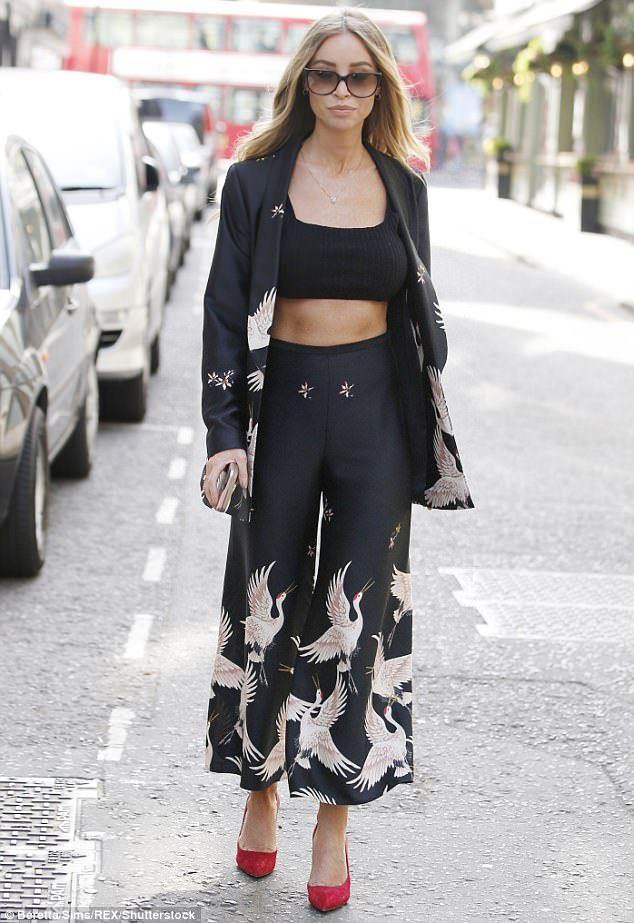 Confession: Lauren Pope looked glam as she stepped out to speak at AOL today. But she reve...