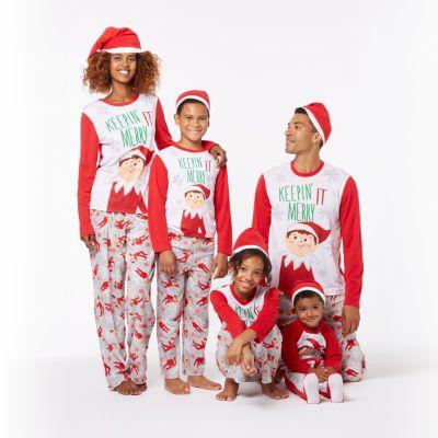 8edbd211cda5 FREE SHIPPING AVAILABLE! Buy Elf on the Shelf Family Pajama Set ...