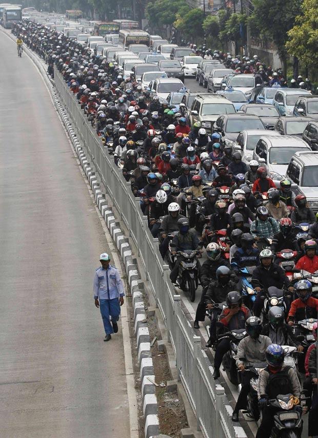 Traffic in Jacarta