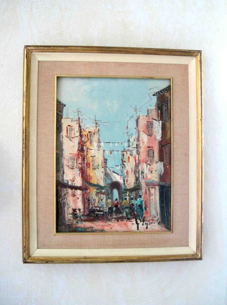 Original Picture Frames 83 Best Vintage Art And Vintage Frames Images On Pinterest
