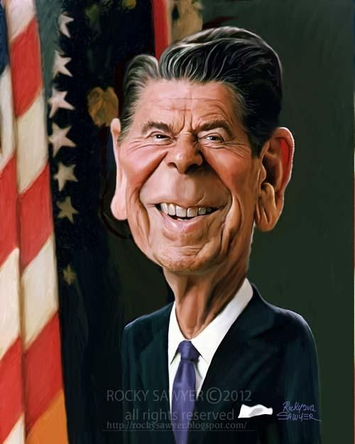 Ronald Reagan FOLLOW THIS BOARD FOR GREAT CARICATURES OR ANY OF OUR OTHER CARICATURE BOARDS. WE HAVE A FEW SEPERATED BY THINGS LIKE ACTORS, MUSICIANS, POLITICS. SPORTS AND MORE...CHECK 'EM OUT!! Anthony Contorno Sr
