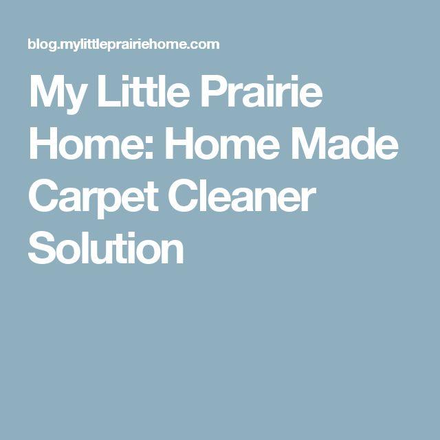 Best 10 Carpet Cleaner Solution Ideas On Pinterest