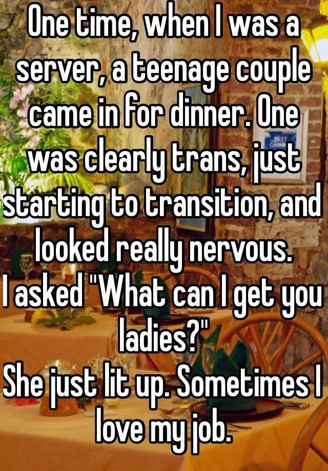 story sometimes nervous