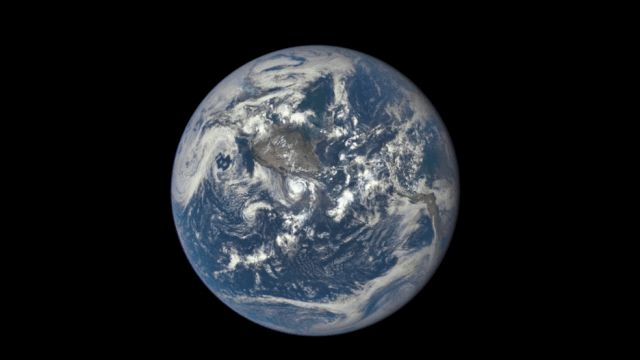 From a Million Miles Away, NASA Camera Shows the Far Side of the Moon Crossing Face of Earth