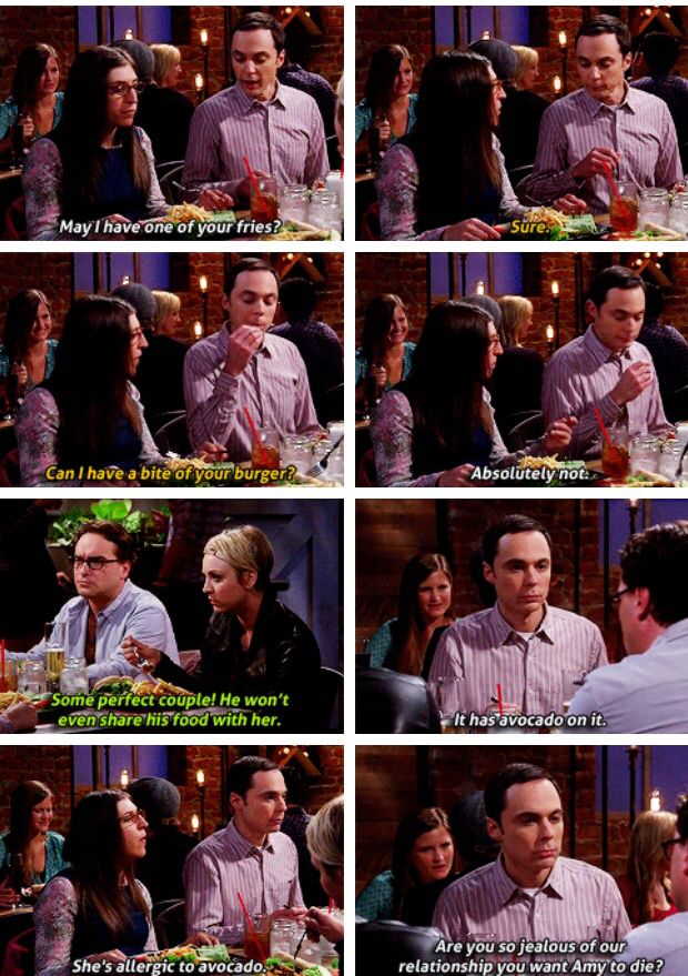 The Big Bang Theory. This is pretty funny but actually really cute and sweet too.
