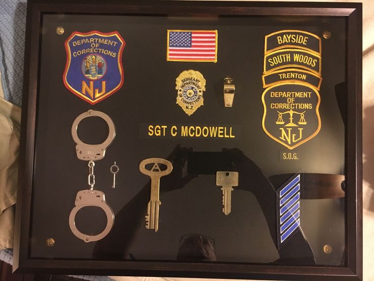 78+ images about Shadow boxes on Pinterest | Police ...
