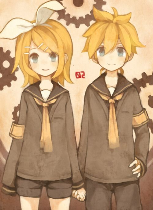 Anime Twins Boy Girl Rin & Len | Kαɢ�...