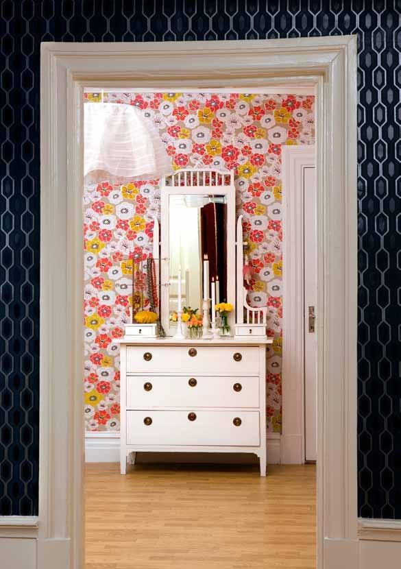 amazing floral wallpaper Scandinavian Wallpaper and Decor