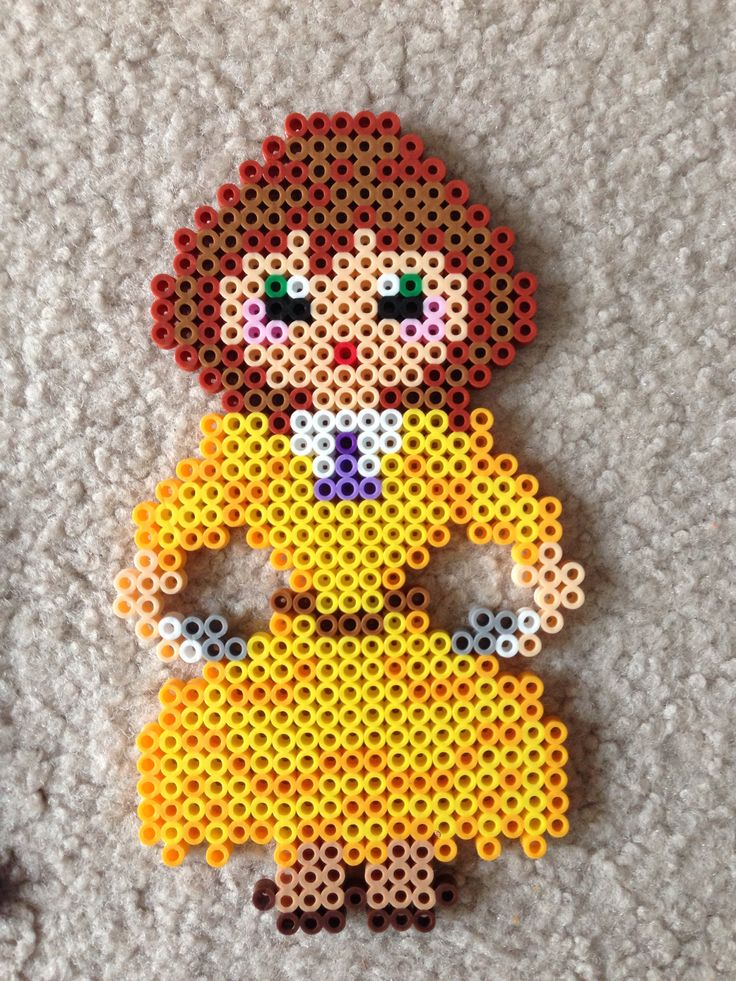Jane Tarzan perler beads by Amy Johnson Castro