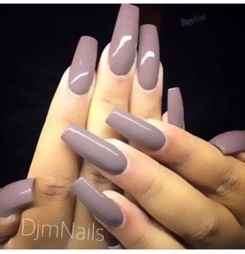 missglamourbunny:  What colour are these nails? it's like a purple grey nude colour