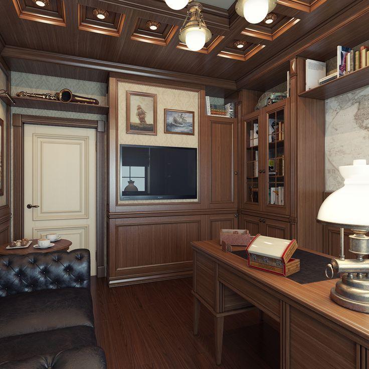 Дизайн интерьера кабинета «  iDesign — студия дизайна интерьера в Краснодаре