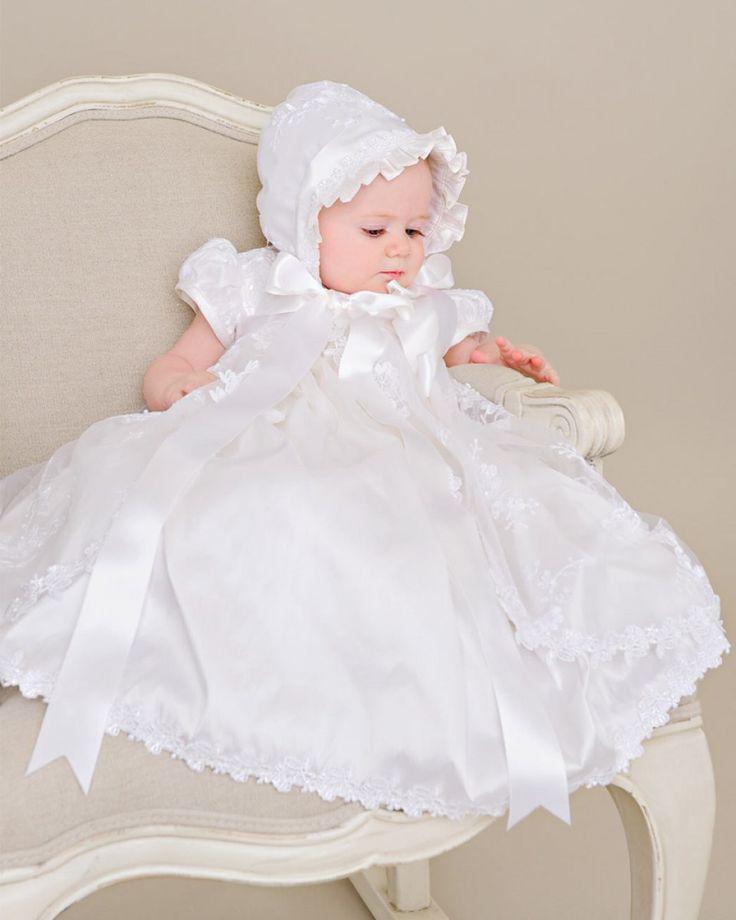 2015 blanc / ivoire perles Blings paillettes bénédiction Heirloom Robe baptême Robe avec chapeau arc FSash bébé filles baptême Robe dans Robes de Produits pour bébés sur AliExpress.com | Alibaba Group