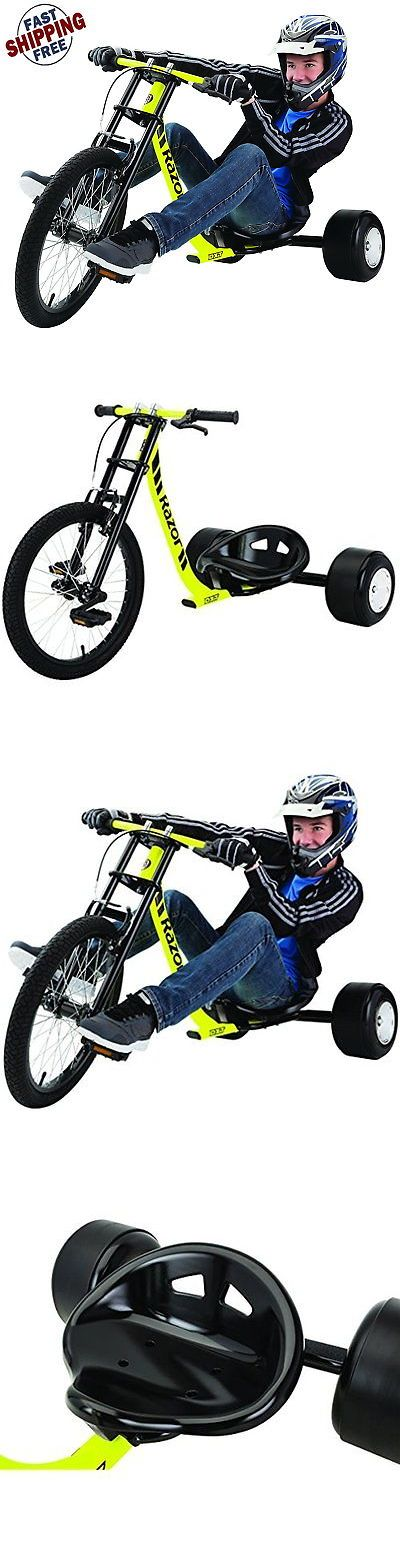 Complete Go-Karts and Frames 64656: Razor Cycling Scooter Drift-Trike Adult Tricycle Bike Drifting Go Kart Big Wheel -> BUY IT NOW ONLY: $156.59 on eBay!