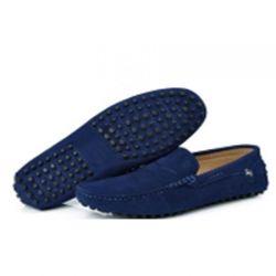 Navy Blue Light Loafers
