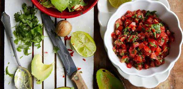 Hemkop.se | Tomatsalsa med koriander och gräslök