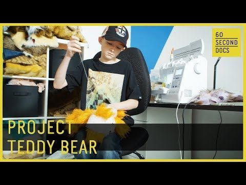 (26) Teddy Bears for Cancer | Project 365 // 60 Second Docs - YouTube