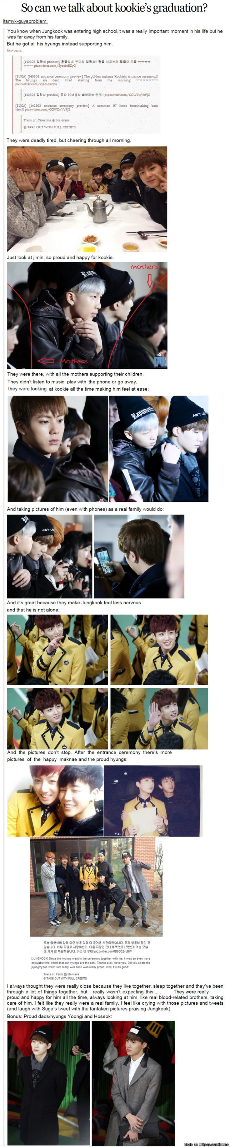 When Kookie was entering high school ♥ | allkpop Meme Center