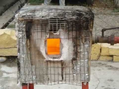 La elaboraci n de un horno para fundir vidrio reciclado - Horno para casa ...