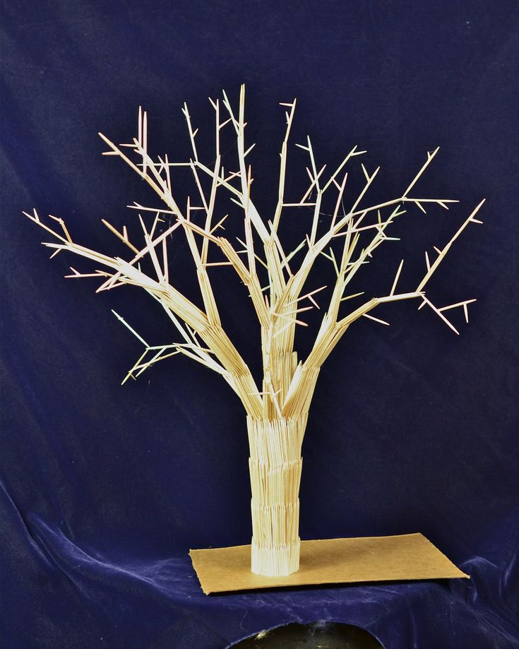 Look at This Awesome Toothpicks Art! What Can You Make With Toothpicks?