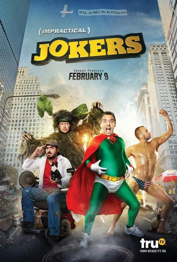 Impractical Jokers (TV Series 2011- ????)