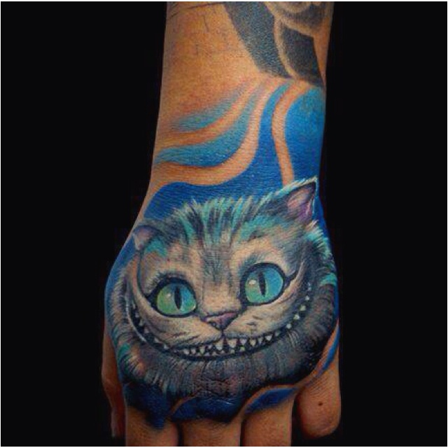 """""""Cheshire Cat: Oh, by the way, if you'd really like to know, he went that way.  Alice: Who did?  Cheshire Cat: The White Rabbit.  Alice: He did?  Cheshire Cat: He did what?  Alice: Went that way.  Cheshire Cat: Who did?  Alice: The White Rabbit.  Cheshire Cat: What rabbit?  Alice: But didn't you just say - I mean - Oh, dear.  Cheshire Cat: Can you stand on your head?  Alice: Oh!!"""""""