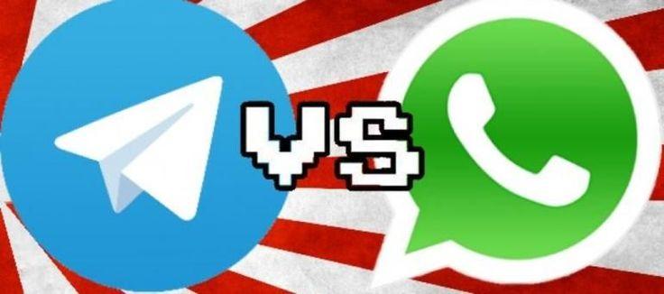 Meglio Telegram o WhatsApp? Ecco chi vince la sfida con qualche sorpresa Telegram VS WhatsApp, qual è meglio? WhatsApp ha rubato il cuore di quasi un miliardo di persone in tutto il Mondo, che la usano per messaggiare con parenti, amici e colleghi. Eppure c'è chi resta f #telegram #whatsapp #app
