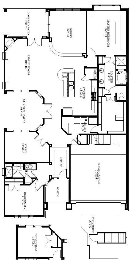 Nelson 7831 2280 Sq Feet Fav Home Floor Plans House