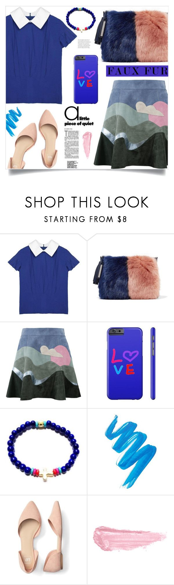 """""""Wow Factor: Faux Fur (19)"""" by samra-bv ❤ liked on Polyvore featuring Loeffler Randall, Marc Jacobs, L.A. Girl and By Terry"""