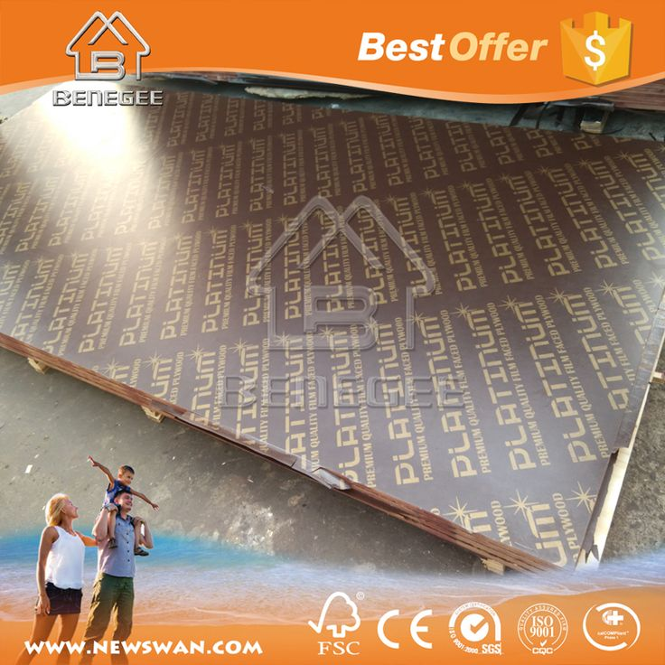Wood Timber 18 mm Plywood for Construction Vietnam