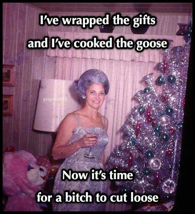 I gotta cut loose