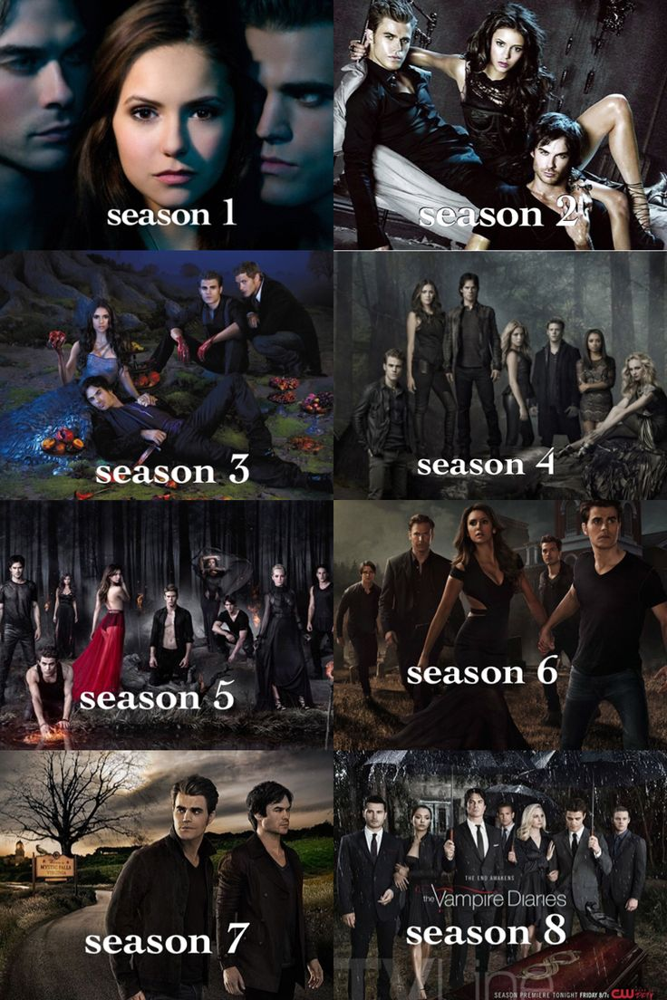 #TVD Season1-8 the development of Elena in this is kinda sad...we don't see her in season 7 or 8