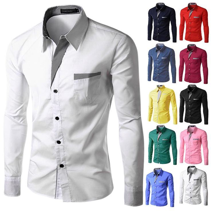 2017 Autumn New Fashion Camisa Brand Clothing Men's Business Shirt Casual Long Sleeved Formal Chemise Homme Slim Camisas Hombre