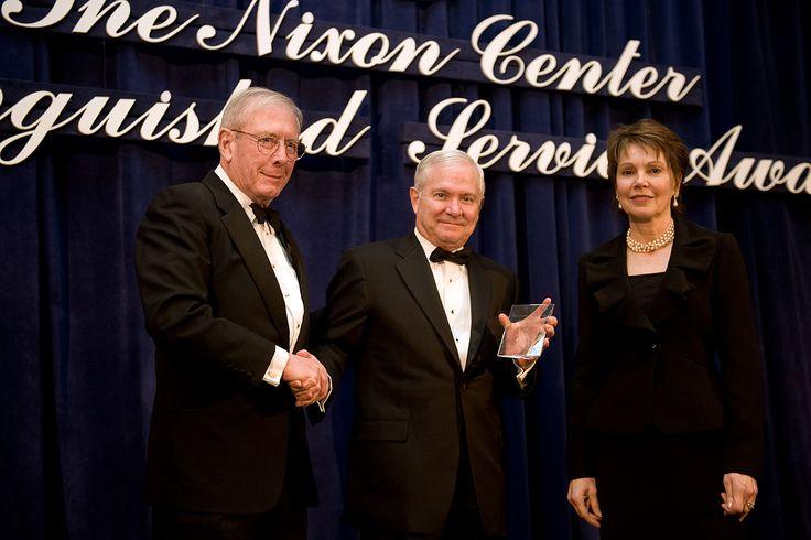 Nixon Center presents award to Robert Gates - Julie Nixon Eisenhower - Wikipedia