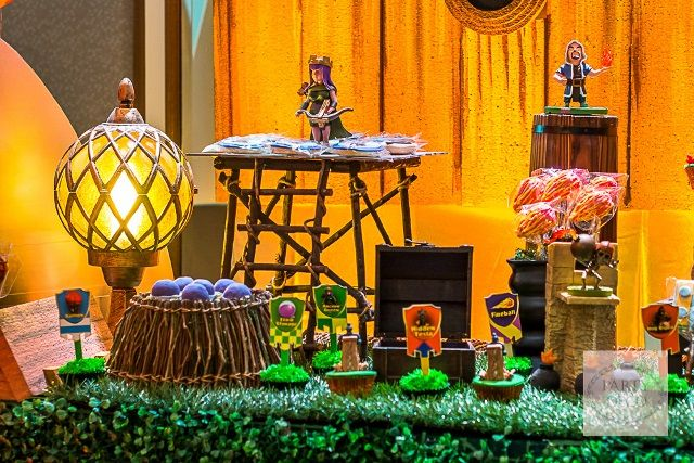 Jaden's Clash of Clans Themed Party - Sweet Treats