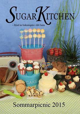 Snart kommer nya läckra sommarbladet! Bjud in bakningen till ditt kök, boka din egen visning hos kundtjanst@sugarkitchen.se