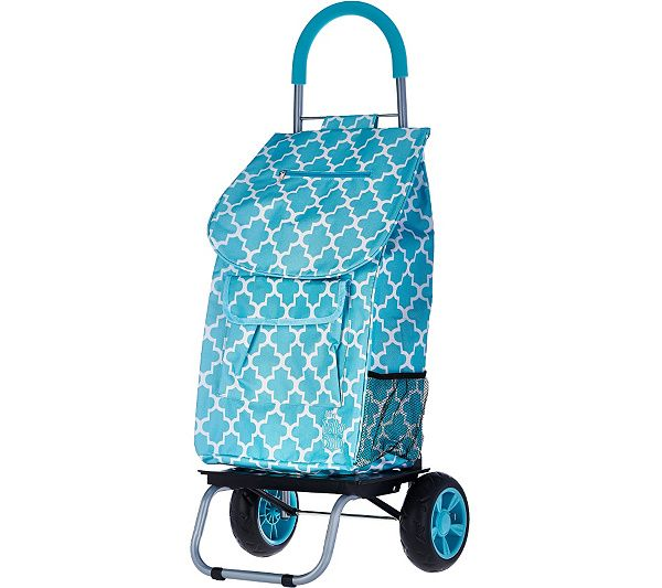 Trolley or dolly? Get the benefits of both with this two-in-one collapsible folding cart. QVC.com