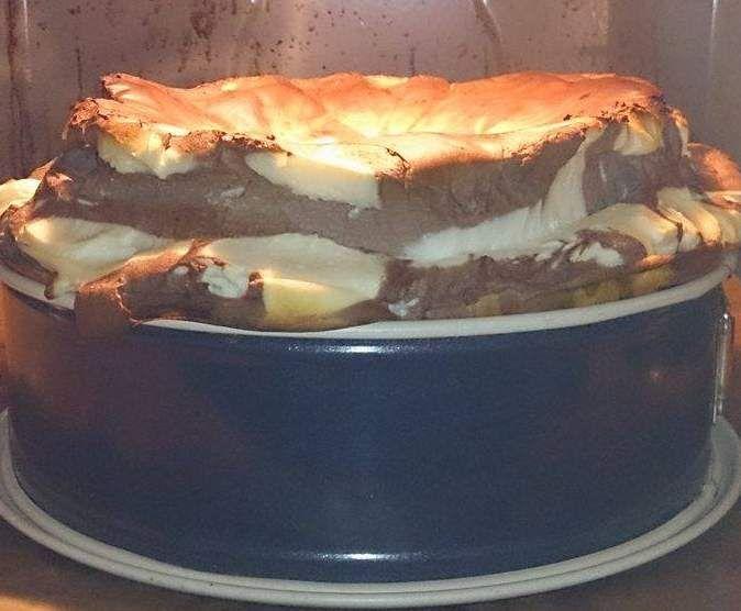 Rezept Low Carb Vanille-Schoko Käsekuchen WW Punkte dabei von Mareike204 - Rezept der Kategorie Backen süß