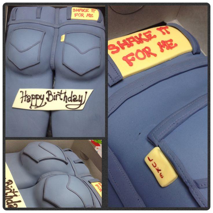 'Shake it for me' birthday butt cake    ... Inspired by Luke Bryan's ...