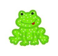 Free Simple frog Applique Patterns -