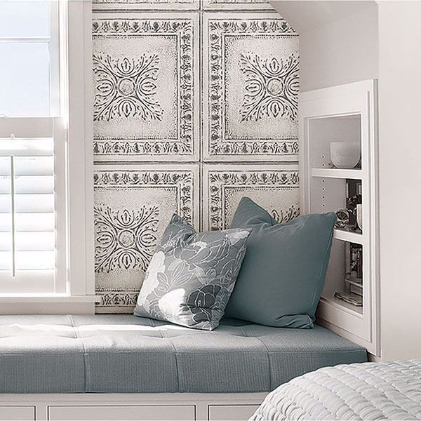 44++ Distressed tin tile peel and stick wallpaper ideas in 2021