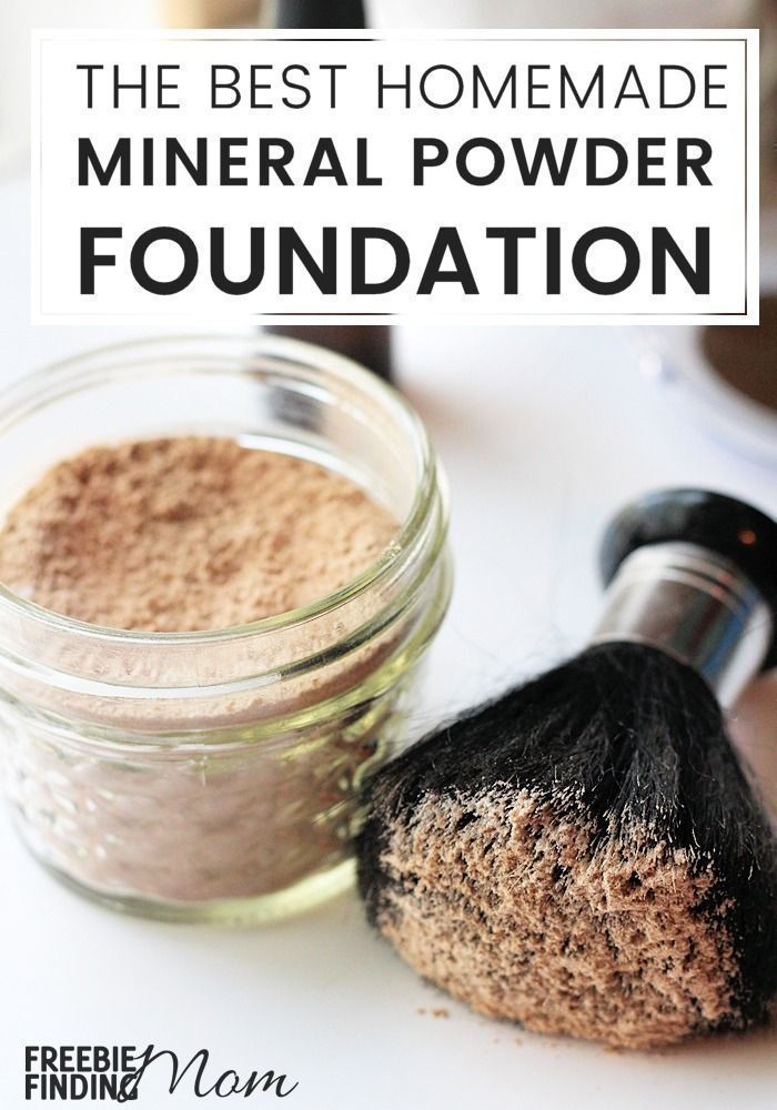 Homemade Mineral Makeup Foundation Mineral Makeup Foundation Mineral Makeup Recipe Minerals Makeup